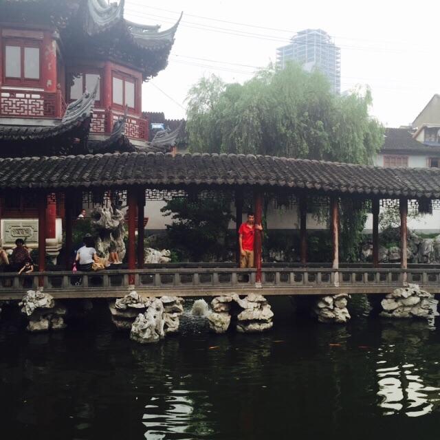 Juan en Yu Yuan Shanghai