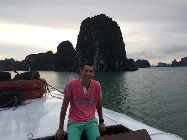 el viajero en Halong bay
