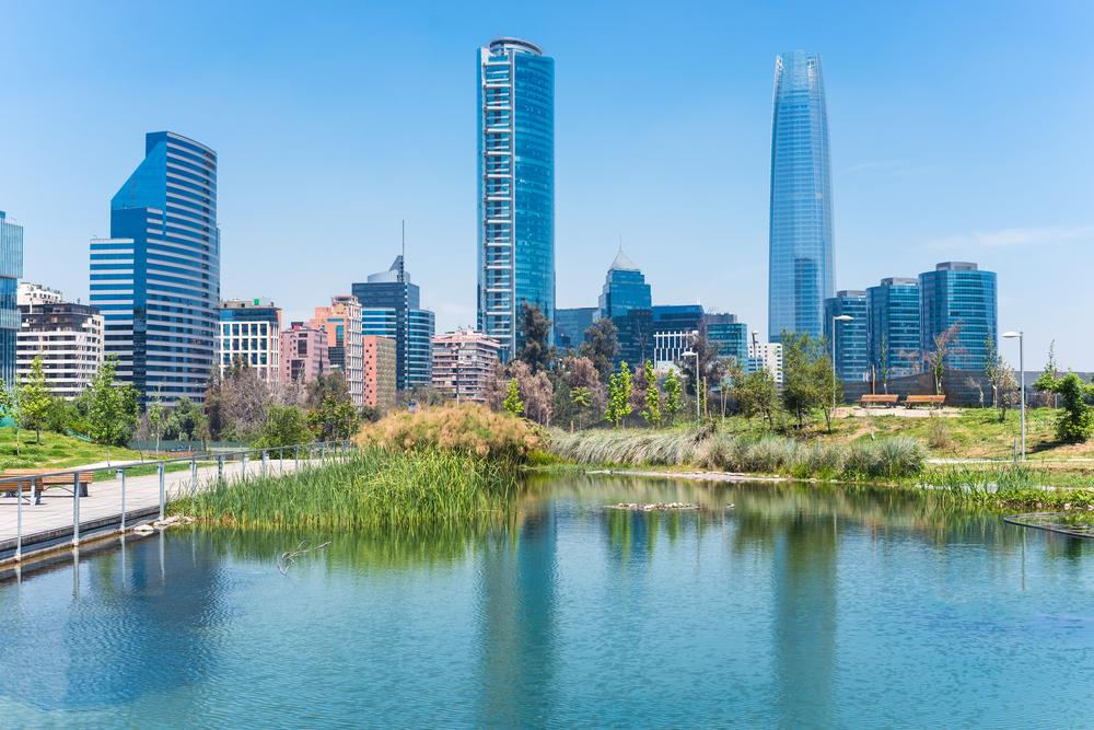 El viajero de la logistica en Santiago de Chile
