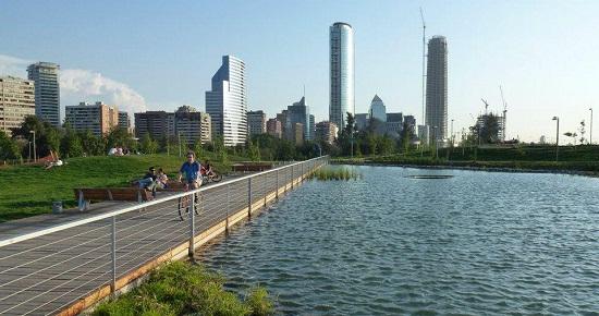 parque bicentenario chile